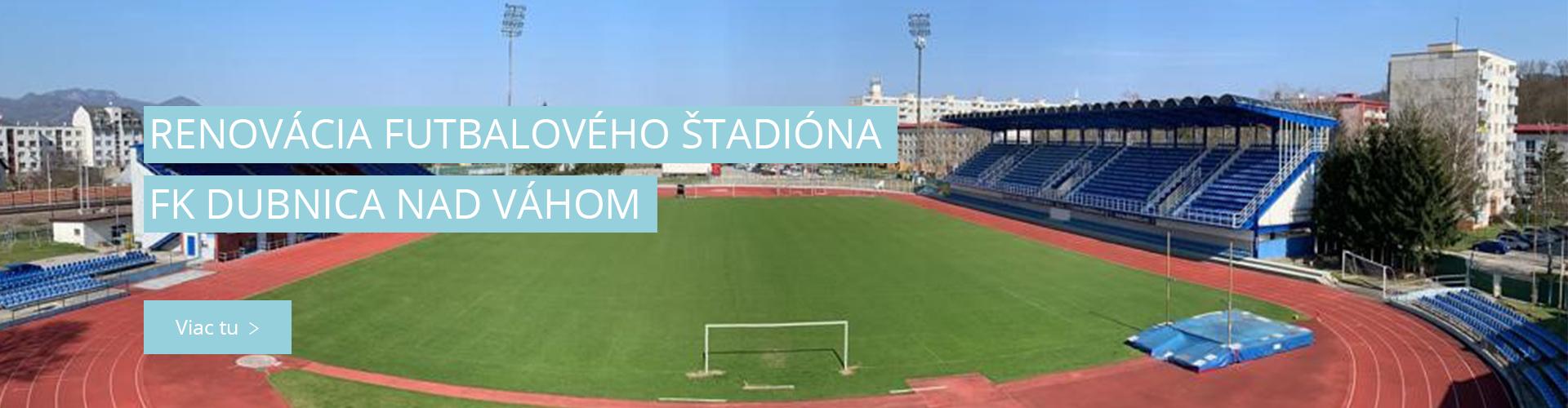 Renovácia futbalového štadióna